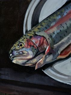 Trout - by Sam Dalby