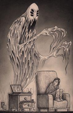 don kenn gallery | Garabatos | Pinterest | Ilustraciones, Demonios ...