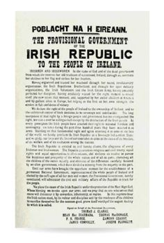 Shop Irish Proclamation of 1916 Poster created by DublinRepublican. Days Until Easter, Ireland 1916, Easter Rising, The Proclamation, Republic Of Ireland, Long Time Ago, Irish, Teaching, Easter Posters
