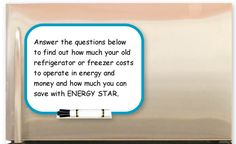 Selecting An Energy Star Refrigerator Source WwwEnergystarGov