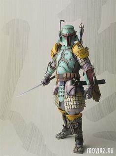 Фигурки персонажей «Звёздных войн» в самурайском стиле