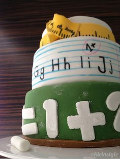 kleinSTYLE | Schulanfang : gefeiert wird mit Zucker! | http://kleinstyle.com
