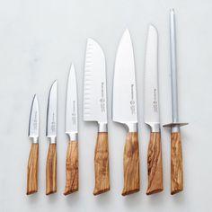 Olive Wood Handled German Steel Knifes on Food52