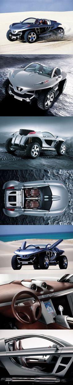 Peugeot Hoggar Silver Concept Car