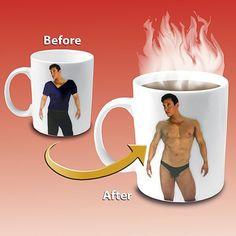 (1) Disappearing Shirt Mug on Wanelo