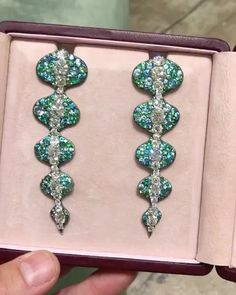 "Theodoras Jeweler. Via JEWELLERY HISTORIAN Magazine (@jewellery_historian) on Instagram: ""Crystallized Summer @theodoros_jeweler that won't go away in September. #HighJewellery"