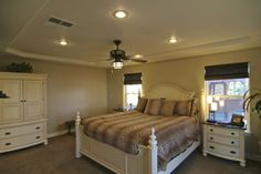 Master Bedroom of a beautiful house in Bear Valley Springs