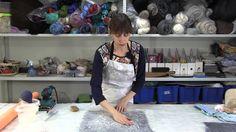 ✿Как создать неповторимые поверхности из шерсти и подручных материалов. ...