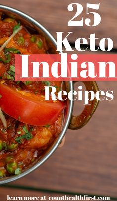 Check out these keto indian recipes that will keep your food life spicy! Never get bored again. They include low carb curry keto vegetarian indian food recipes keto naan bread instant pot indian recipes and slow cooker recipes. Never feel deprived again! Low Carb Indian Food, Indian Diet Recipes, Healthy Diet Recipes, Veg Recipes, Cooker Recipes, Healthy Food, Curry Recipes, Low Carb Curry, Keto Curry