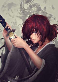 Hitokiri Battousai (Rurouni Kenshin) by pantijompo on DeviantArt