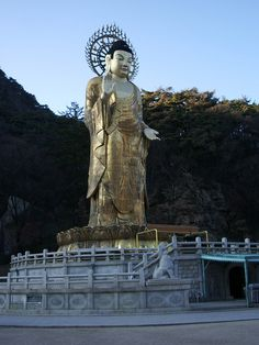 Maitreya at Beopjusa 법주사 미륵불 法住寺 / CC