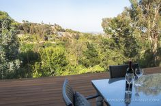 This Hollywood Hills home's deck is made of Advantage Cumaru™  #california #luxury #deck