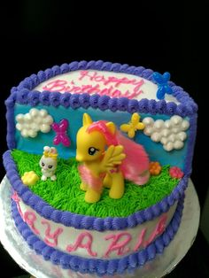 My Little Pony birthday cake Halihanngans Cakes by my WONDERFUL