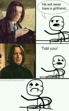 Am I the only one who thinks young Severus is really cute?