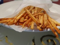 Matchstick Fries & the end of my first week of blogging! | Words & Cake | Bake, Eat, Write, Read