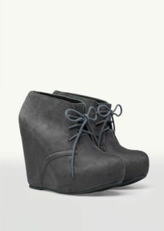Suede Platform Wedge Booties | Shoes | rue21
