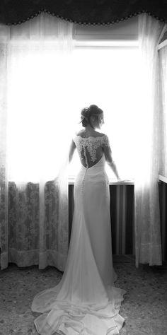 #nellodcesare #wedding #italian #black #white #bride