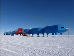 A nova estação na Antártida