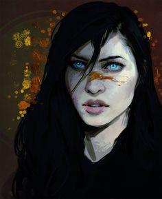 Pretty much what I imagine my Hawke to look like post DA2... by Pheberoni on DeviantArt
