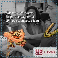 Conheça a história de cada produto e encante-se com cada detalhe <3 Vem ver na loja oficial da Gloria Pires: bemglo.com  #ARTE #ASTA #BEMGLO #BOASIDEIAS #CONSUMOCONSCIENTE #EMPODERAMENTO #GLORIAPIRES