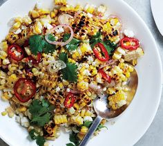 All the flavors of a Mexican grilled corn on the cob, now in a convenient, tossed-together form.