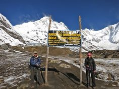 Made it to Annapurna Base Camp