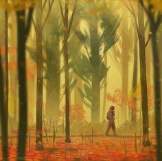 ZandraArt — autumn leaves