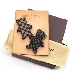 Louis Vuitton Brooch Nunurs Monogram Brooches Brown Jelly/Plastic M64939
