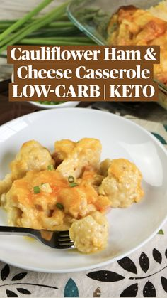 Healthy Low Carb Recipes, Low Carb Dinner Recipes, Low Carb Keto, Keto Recipes, Cooking Recipes, Healthy Food, Ham And Cheese Casserole, Easy Casserole Recipes, Frango Chicken