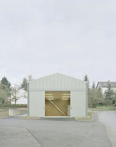Hangar XS by Ecker Architekten