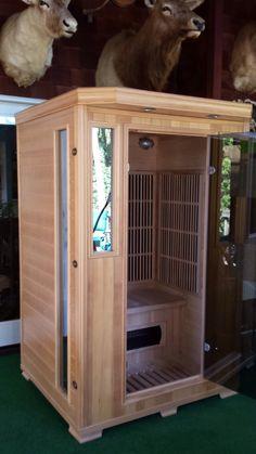 Good Health Saunas GS 2-person Infrared Sauna #infraredsauna #happycustomer