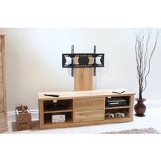 mobel oak mounted widescreen television cabinet bonsoni mobel oak hideaway