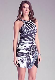 Asymmetric Racerfront Dress