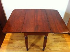 Country Fruitwood Dropleaf 38d 50wopen 29h by KrausFarm on Etsy, $350.00