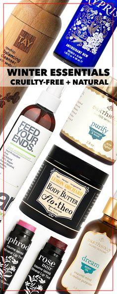 Winter Essentials for Hair + Skin