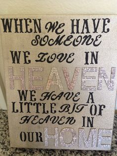 Heaven is with us when our loved ones our there waiting on the other side ~MaeJamesAuthor