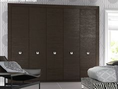 Traditional dark wood bedroom furniture