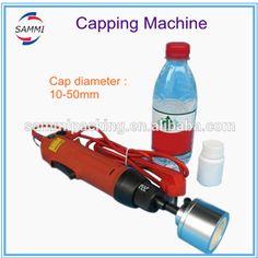 Free shipping SG-1550 quality handheld impulse bottle cap sealer