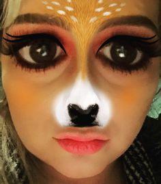 Coisa mais engraçadinha da Lincinha!!!  #maquillaje #maquiagem #make #makeup…