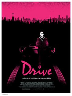 Alternative DRIVE movie poster design made by Andrey Danilov