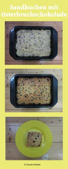 Sandkuchen mit Osterbruchschokolade