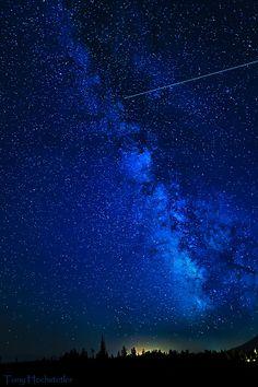 Milky Way along the Tetons
