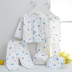 Newborn clothing Fashion Baby Boys Clothing Sets set 7pieces & 5 pieces clothes for 0-3M