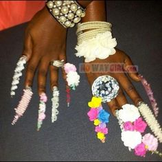 Probably The Most Ghetto Nail Fashion Ever!