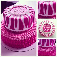 foto7daagse | Thema van dag 6: Lekker | #f7d #roze #taart #zelfgemaakt | Photography in 7 days | Theme of day 6: Nice | #pink #zebra #cake #madebymyself