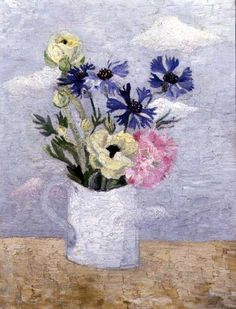 Christopher Wood | Still Life with Flowers from a Cornish Window