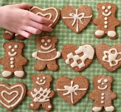 Gluten-free gingerbread cookies. #gluten free #cookies #gingerbread