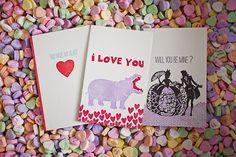 Smock Valentine's Day love cards