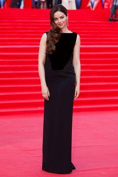 Марина Александрова в платье Tom Ford и украшениях Chopard - June 2017