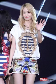 150714 SNSD - Party + No1 @ SBS The Show : Yoona